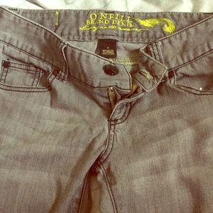 O'Neill Brand Denim gray jeans